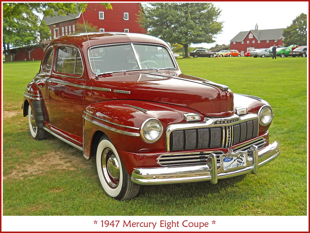 Auto Electrical Wiring Diagram 1941 Mercury Eight Coupe 1947