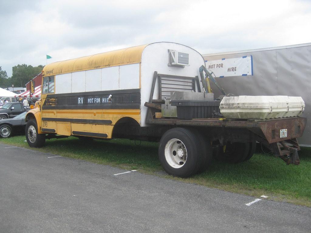 School Bus Rv Conversion This Old International School