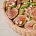 Fresh Calimyrna Figs-Almond Tart