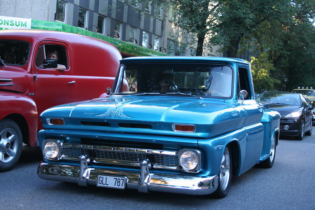 60s Chevy Truck >> Classic Chevrolet Pickup Truck 60's | Knase | Flickr