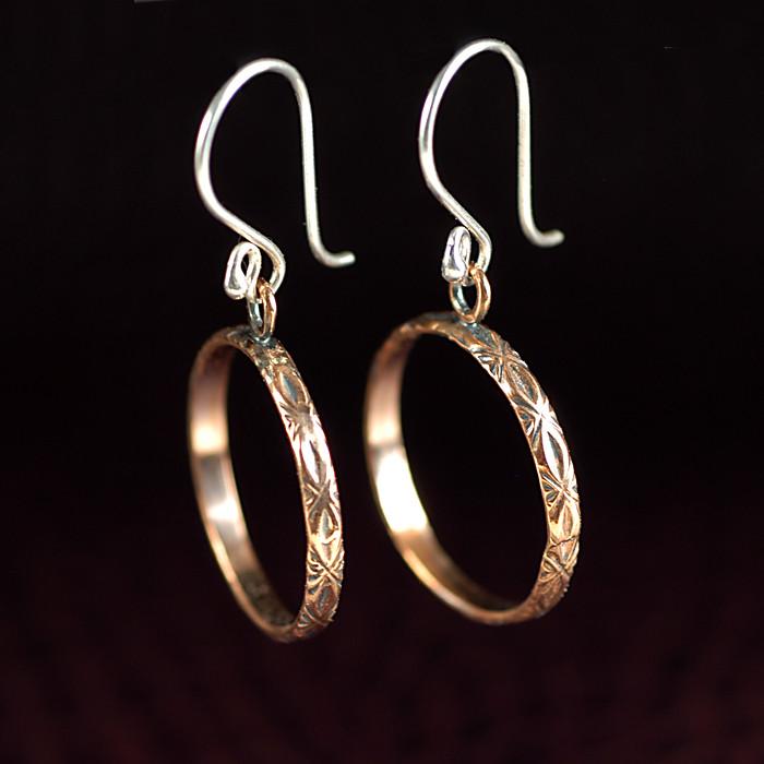 Handmade Gallery Wire Hoop Earrings | More handmade gallery … | Flickr