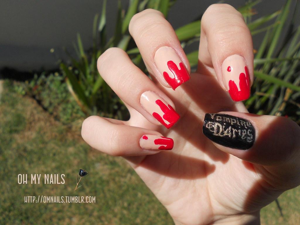 vampire diaries | part 1 | omnails.tumblr.com | Paola Abreu | Flickr