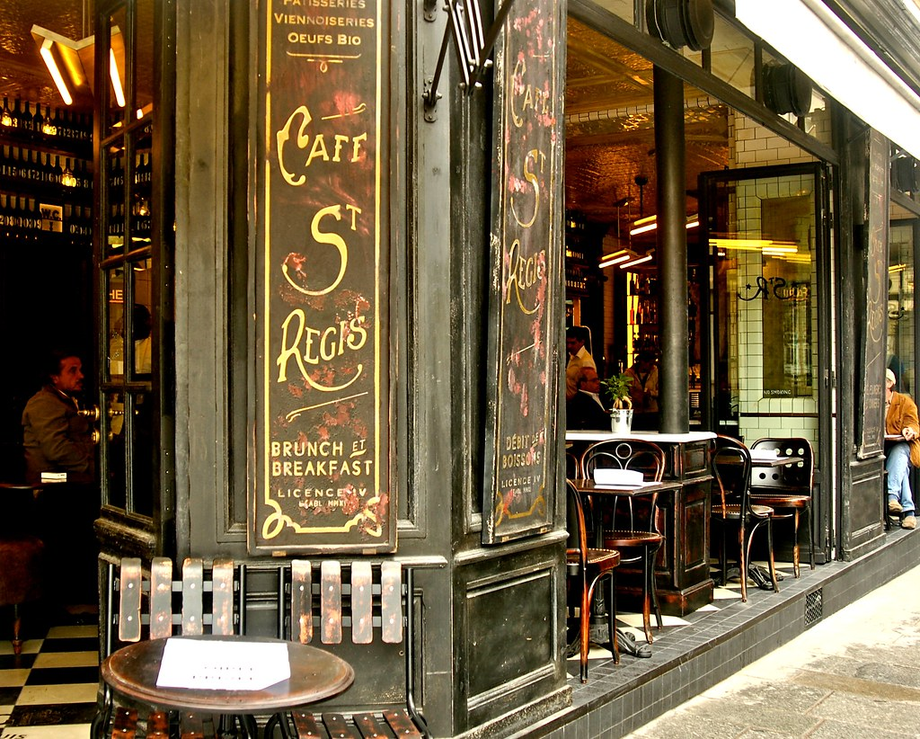 Cafe St Regis Paris