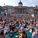 BP Big Screen audience in Trafalgar Square, London © ROH 2011
