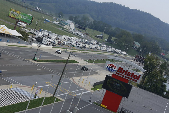 Campers Staged At Earhart Explore Bristol Motor Speedway