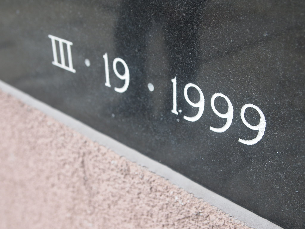 III • 19 • 1999 | Mixing Roman and Arabic numerals is not ...