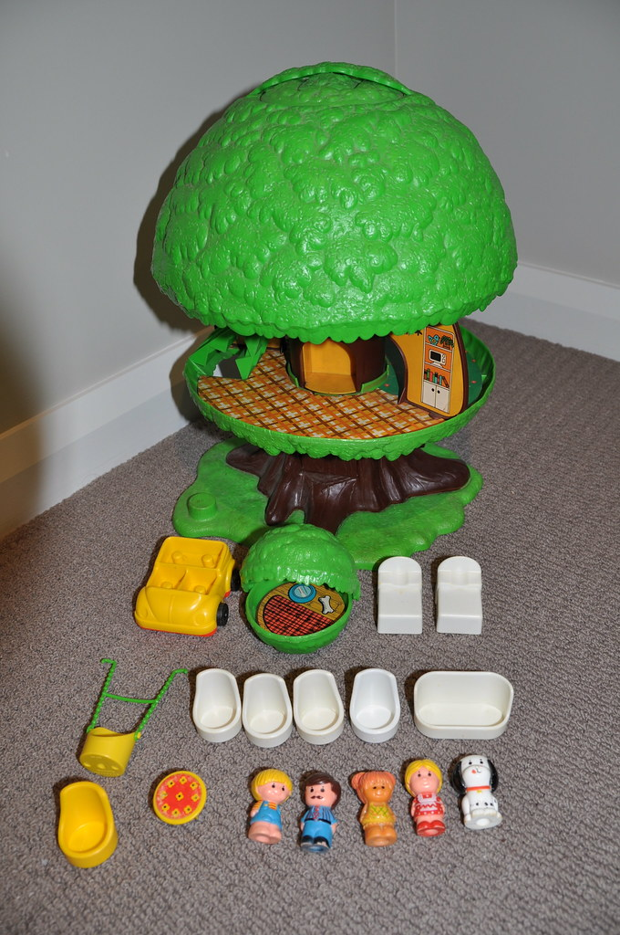 Ordinary Kenner Treehouse Part - 4: ... Vintage Kenner Family Tree House | By Jadedoz