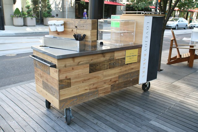 Lovejoy bakers coffee cart design by fix studio 2011 for Coffee cart design