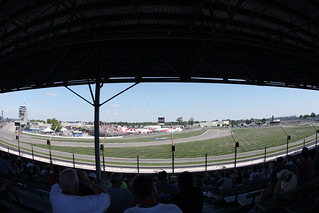 Outside of turn 1 | by indianapolismotorspeedway.com