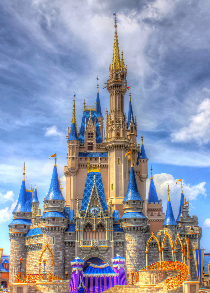 Cinderella Castle Disney World Florida