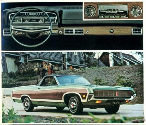 1971 Ford Ranchero Squire Pickup | coconv | Flickr