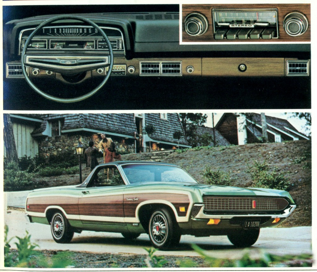 1971 ford ranchero squire pickup by coconv