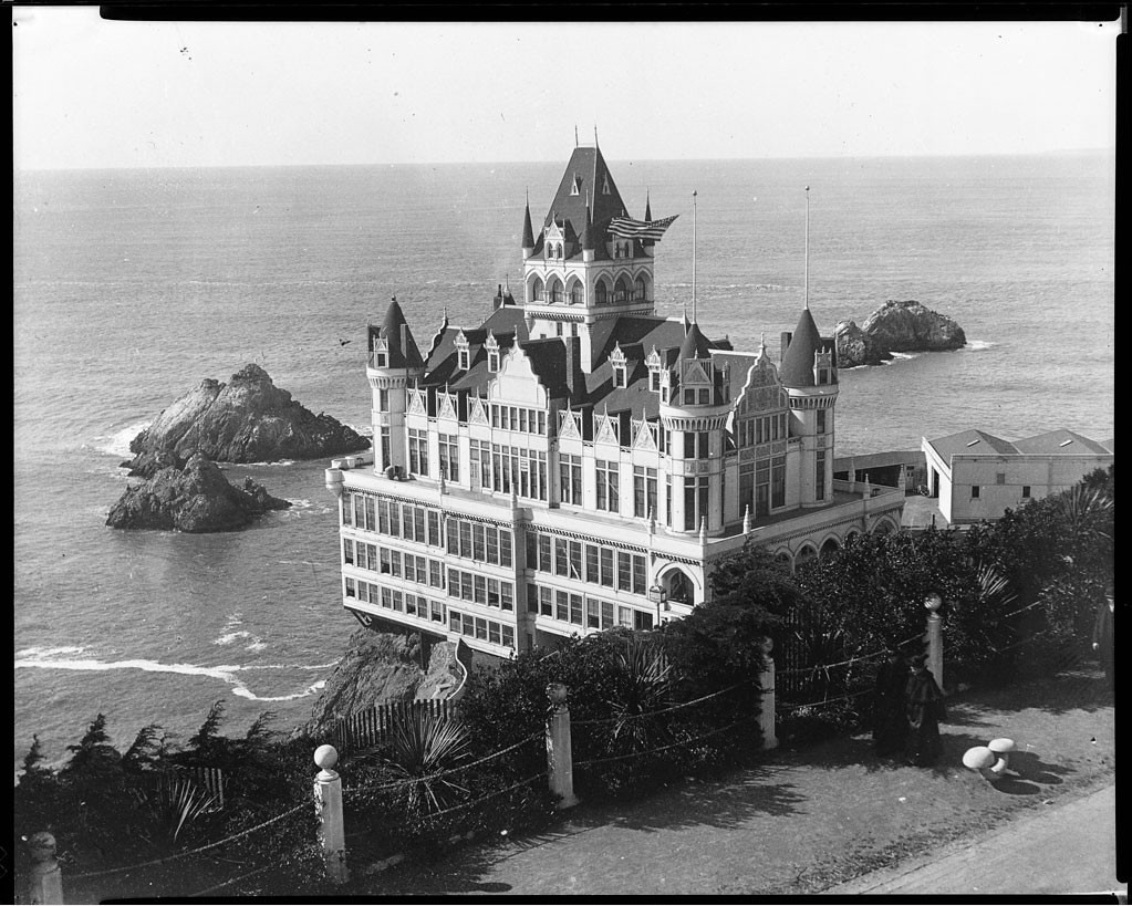 The Cliff House And Seal Rocks San Francisco 1900 Flickr