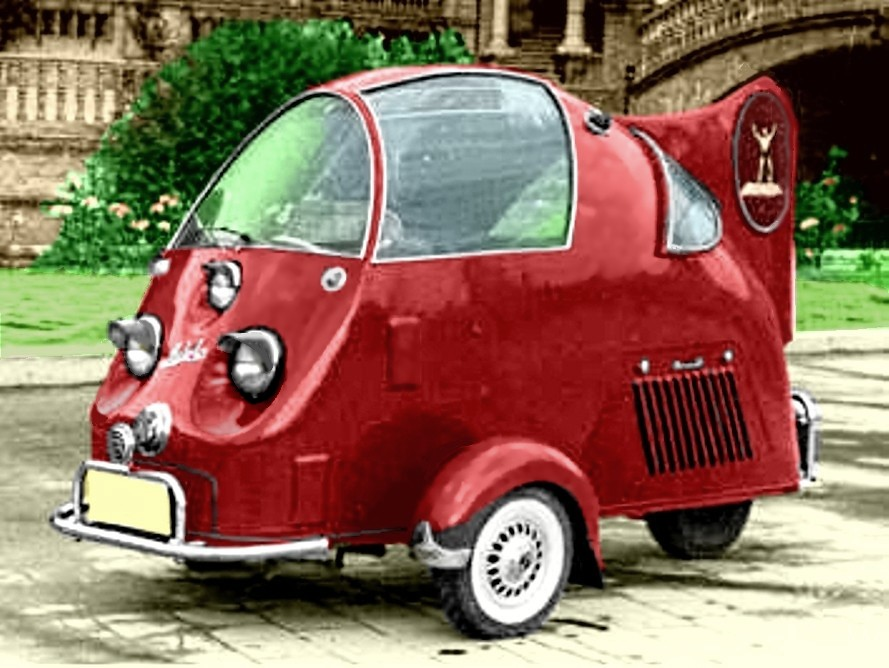 Gaitan Auto Tri Huevo 125cc 1953
