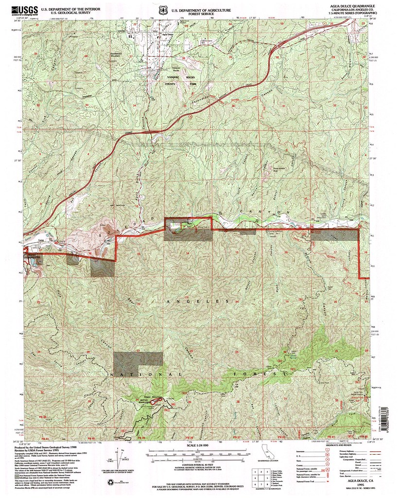 Agua Dulce California Map.Scanning Topo Map Ca Agua Dulce Scanning Service Project Flickr