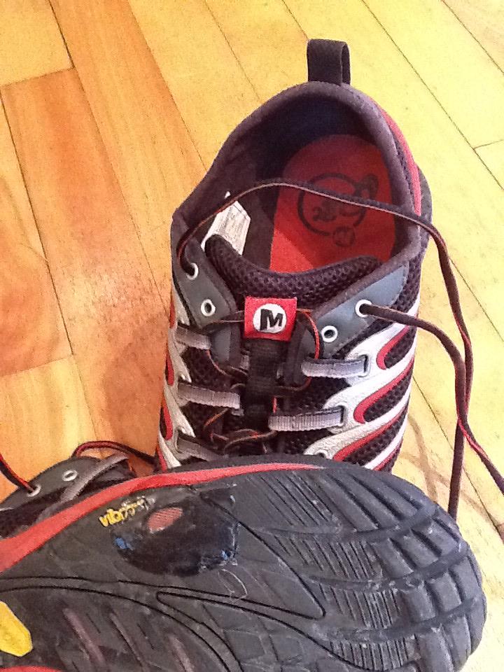 Merrell White Shoe