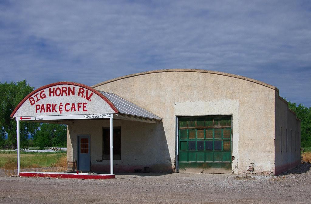 Big Horn RV Park And Cafe St Xavier Montana