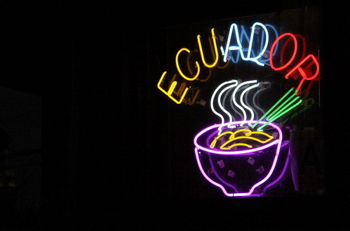Colorful Neon Ecuador Sign - Tropical II Restaurant - Sunnyside, Queens NYC | by ChrisGoldNY