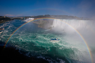 Niagara Falls with Double Rainbow! *explored* | by Apricot Cafe