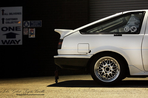 Retro-spective continued - a shoot with John Giberts' Toyota Corolla AE86 | by TomGidden
