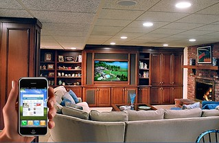 iPhone controlling a living room | by windley