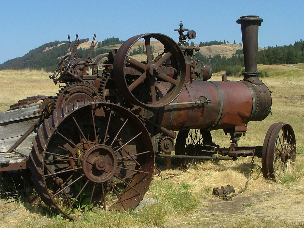 Case Steam Tractor Diagram : Case steam tractor molson washington the engine