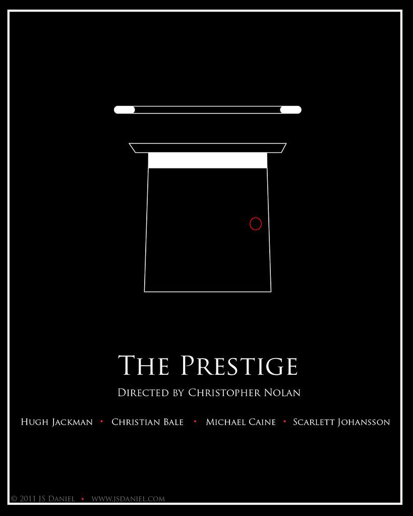 u0026#39;The Prestigeu0026#39; - - minimalist movie poster ...