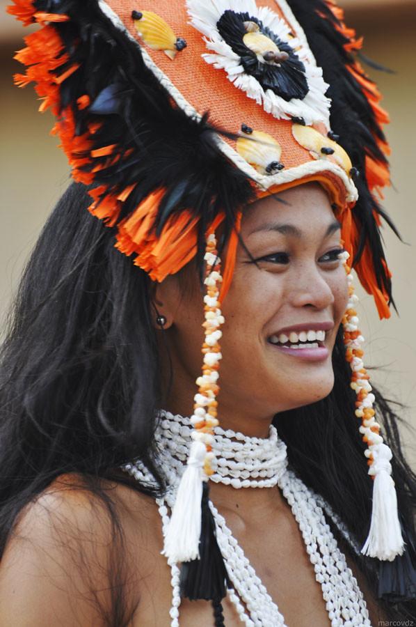 Polynesian Woman  Marcovdz  Flickr-7963