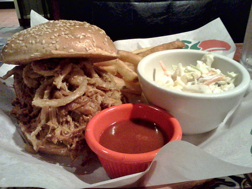 BBQ Pulled Pork Sandwich | by Morton Fox