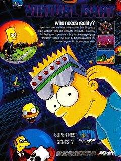Virtual Bart - SNES Ad | by Tanooki's Stuff
