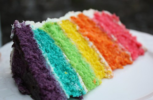 Rainbow Cake! | by KidCrayola