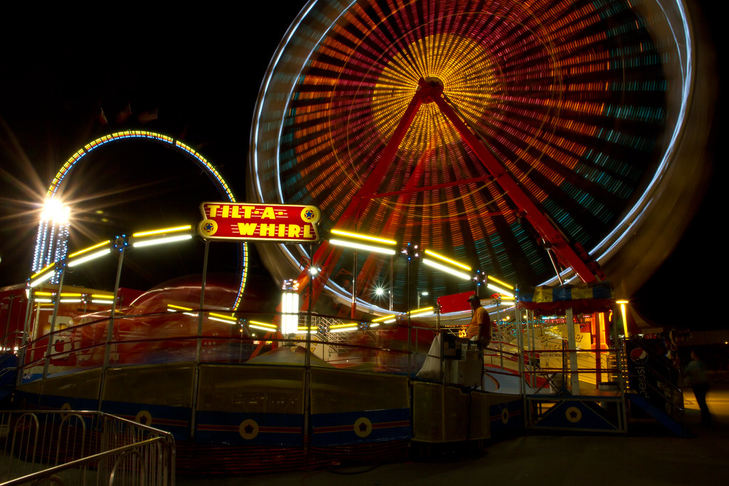 Tilt-A-Whirl | The Midway would not be complete with out a