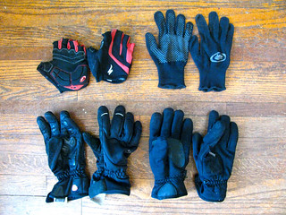 Winter cycling gloves | by neilfein