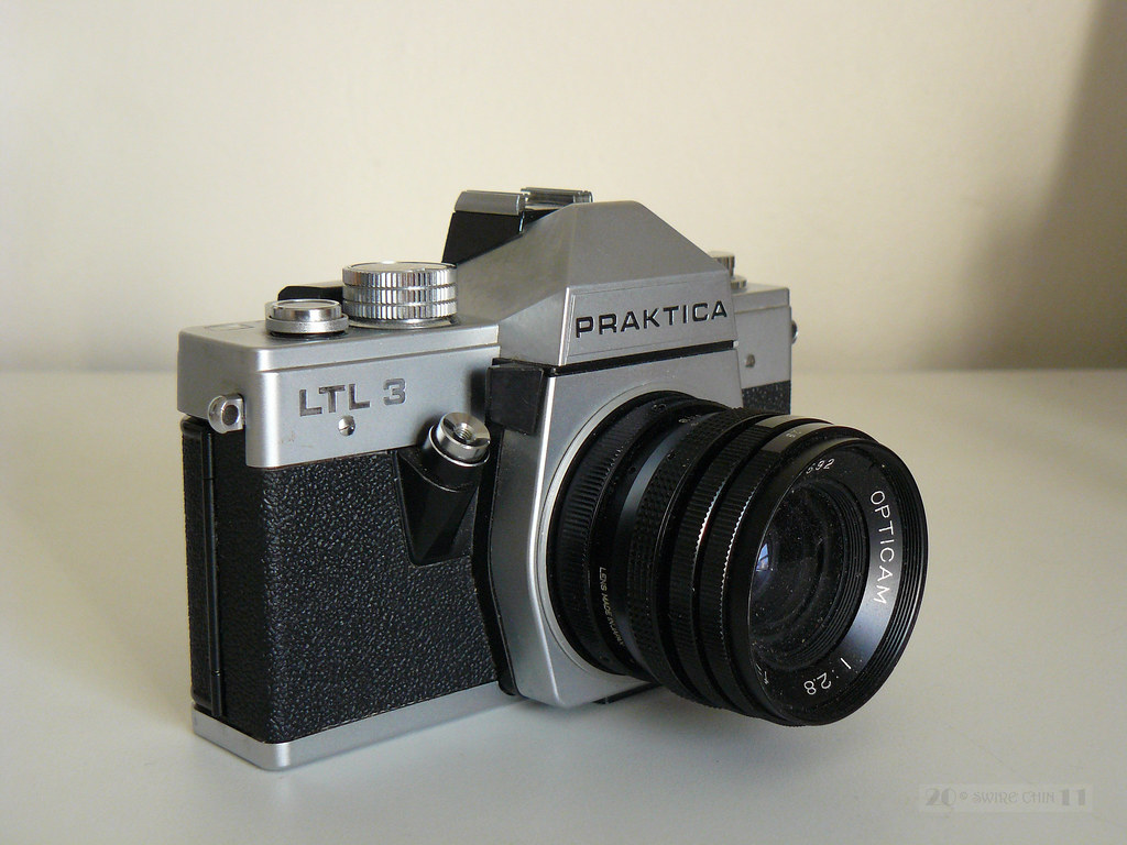Praktica camera from my late dads old camera collection. u2026 flickr