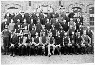 Stable staff  in Stockholm 1895 | by Stockholm Transport Museum Commons