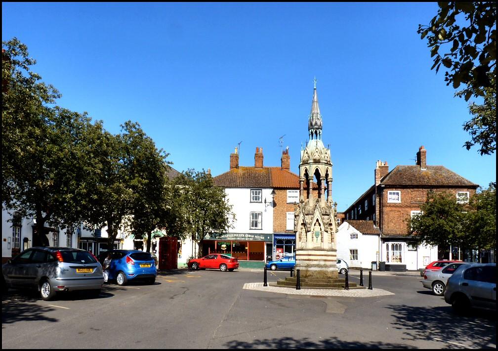 Market Place Horncastle Lincolnshire A Quite Market