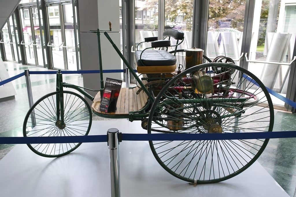 Mannheim\'s pride: The world\'s first automobile, built in M… | Flickr