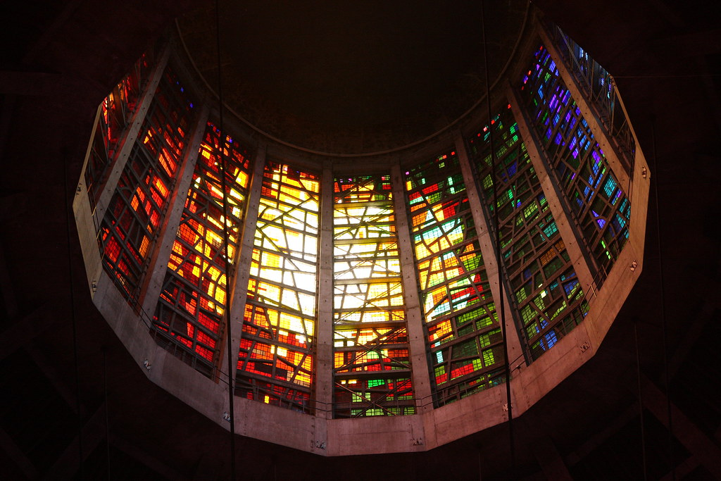 Liverpool Metropolitan Cathedral Stained Glass By John