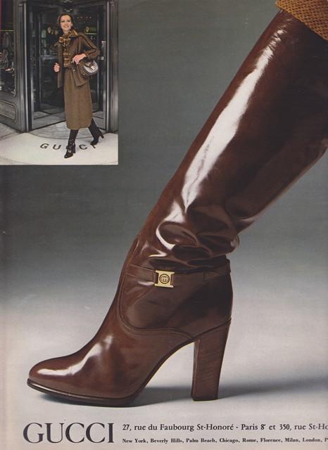 Gucci Boots 1977 Honorataqueen Flickr
