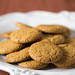Vegan Ginger Snap Cookies