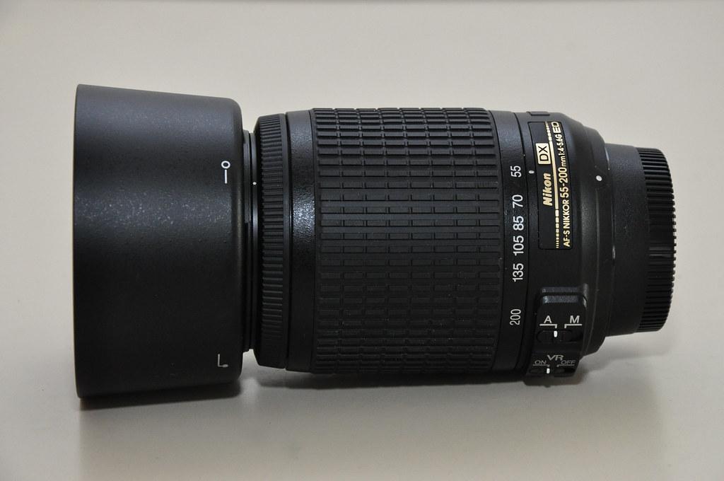 Lens 200mm Nikon Nikon-lente 55-200mm