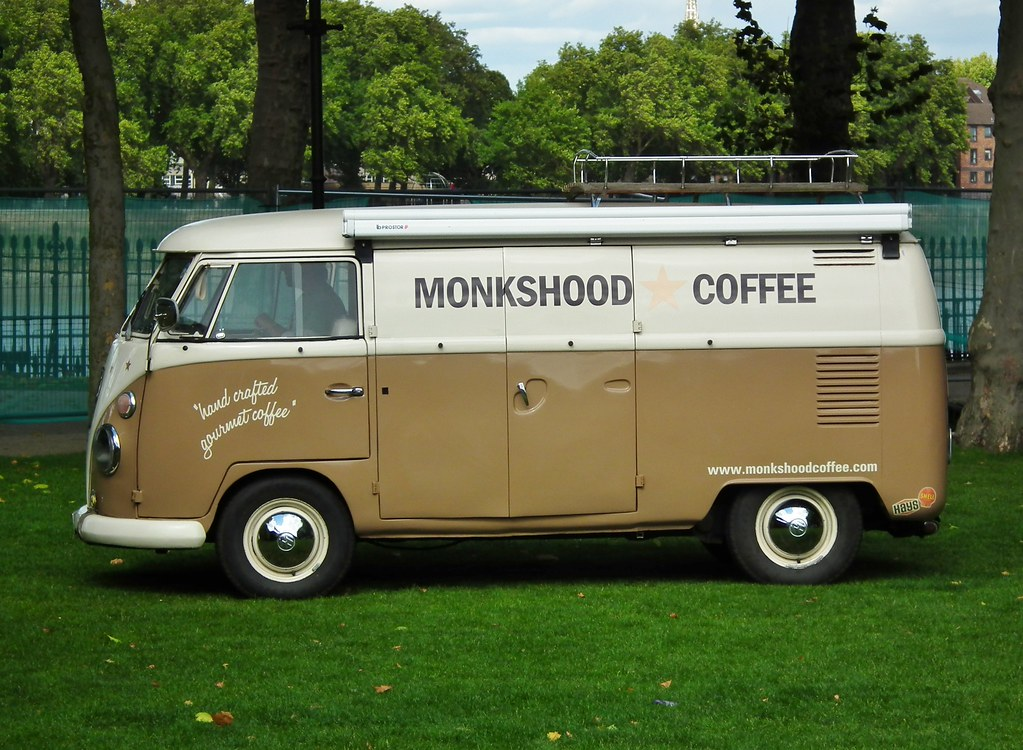 monkshood coffee van monkshood coffee  volkswagen tran flickr