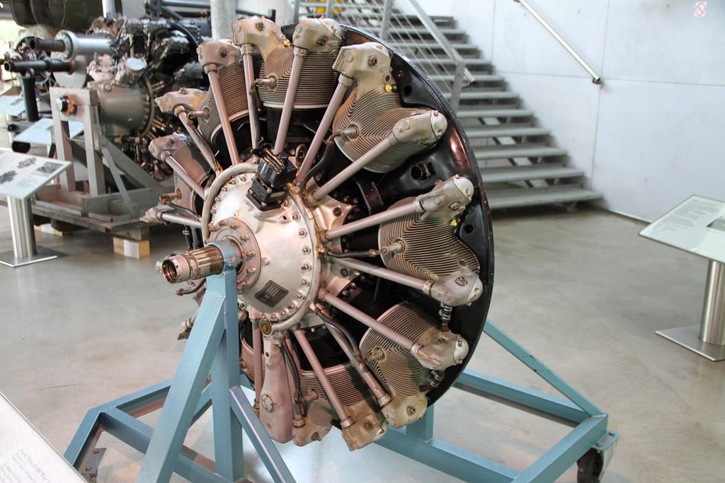 Flugmotor Pratt & Whitney R-1340 Wasp | Baujahr 1953 ...