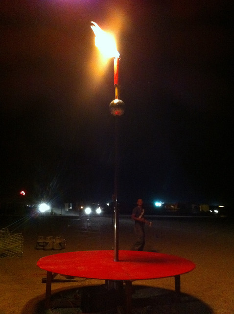 Man On Fire Pole : Fire pole assembled flickr photo sharing
