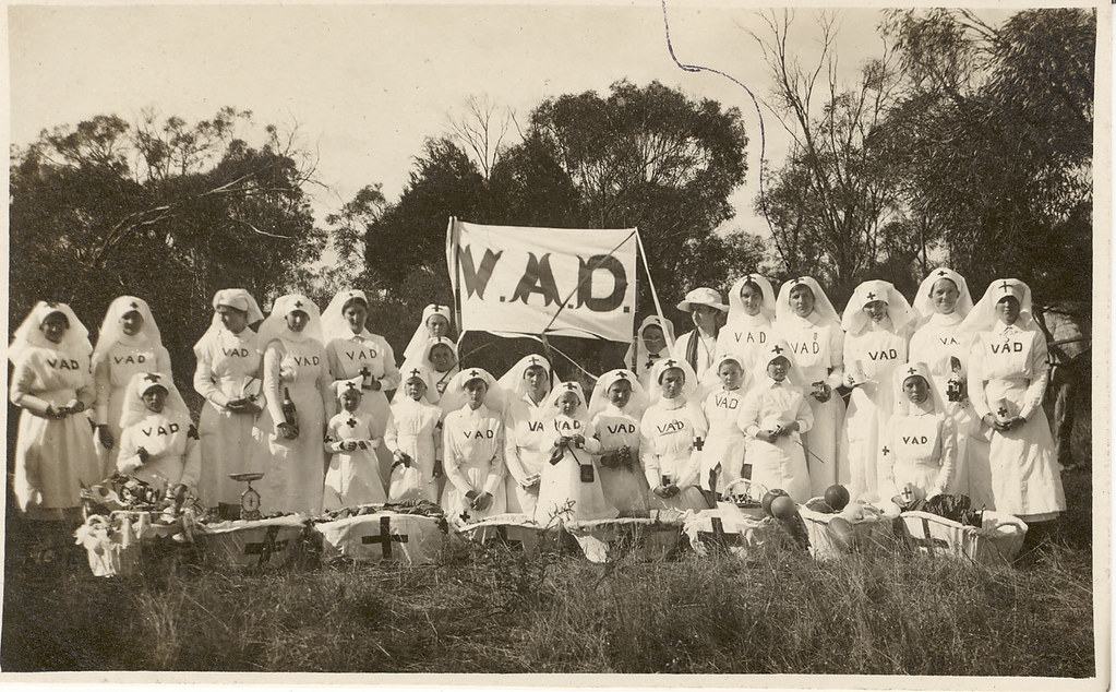 Voluntary aid detachment and first aid