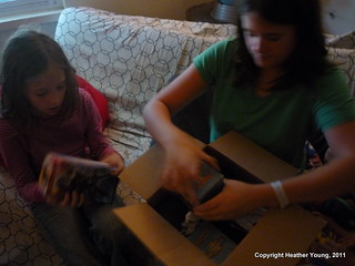 We just got a package | by Mrs. Shamus Young