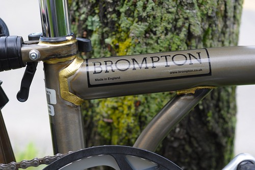 Raw Lacquer Brompton | by Lovely Bicycle!