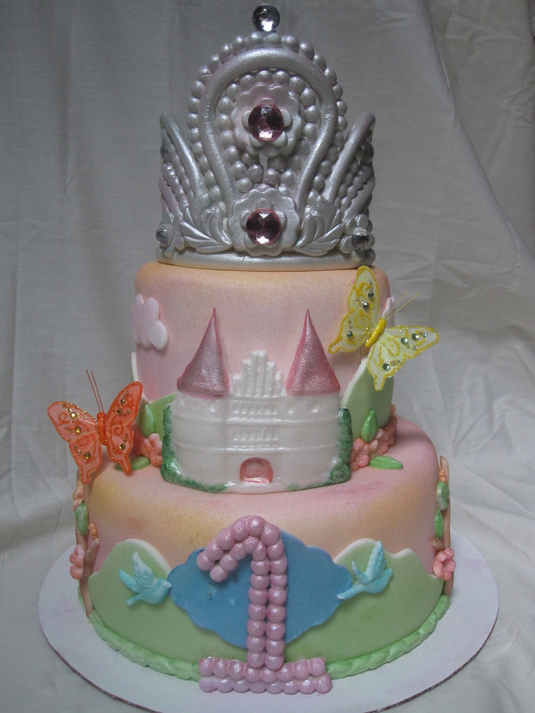 Princess Tiara Birthday Cake Princess Tiara Birthday Cake Flickr