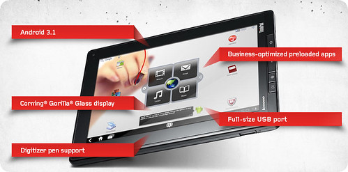 ThinkPad Tablet (Android) | by @gletham GIS, Social, Mobile Tech Images