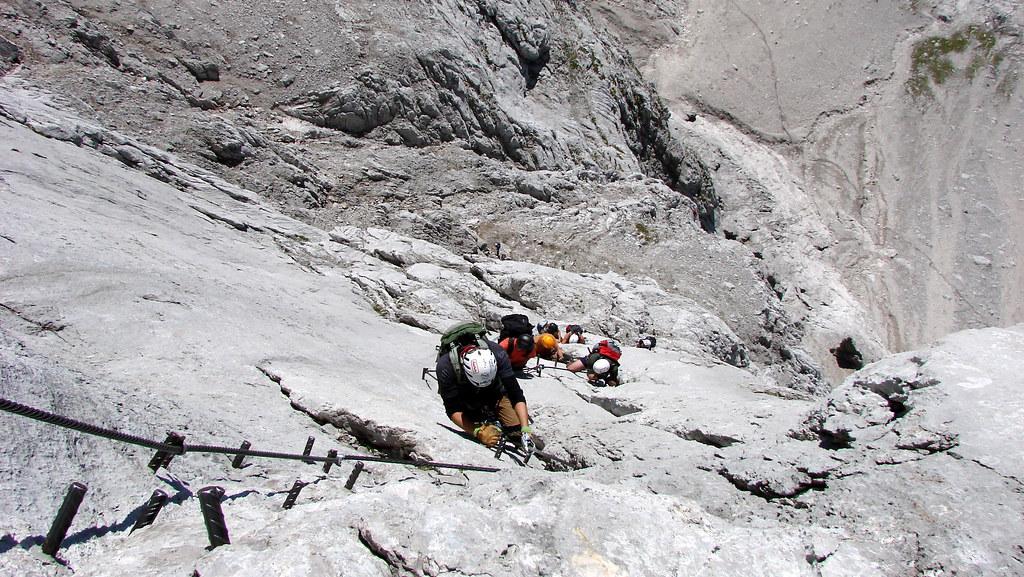 Klettersteig Johann Dachstein : Super ferrata dachstein johann klettersteig alesduchac